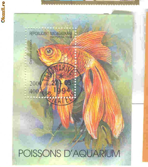 А так по жизни увлекаюсь аквариумными рыбками , поэтому и марки собираю...