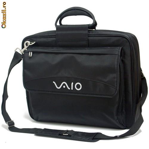 Сумка для ноутбука Sony VAIO Bag, нейлон, размер экрана 17.