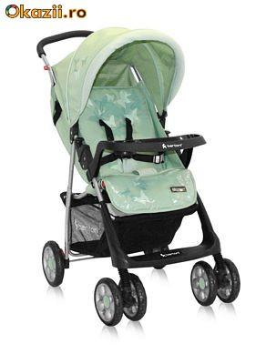 Бертони Стар - очень лёгкая и устойчивая коляска для путешествий.