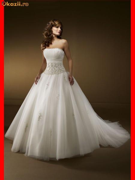 Пышное свадебное платье Style 5516.